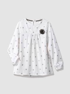 Girl's Polka Dot T-Shirt, Girl