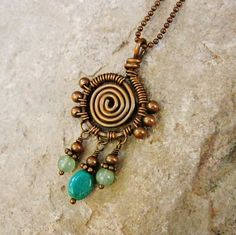 Hey, I found this really awesome Etsy listing at https://www.etsy.com/listing/231590463/wire-wrapped-turquoise-and-aventurine