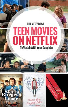 The Best Teen Movies On Netflix To Watch With Your Daughter Overwhelmed by Netflix's giant catalog of option? Check out this list of the best teen movies, documentaries, and series currently streaming on Netflix. Movies For Teenage Girls, Movies To Watch Teenagers, Best Teen Movies, Kid Movies, Good Movies For Tweens, Netflix Shows To Watch, Good Movies On Netflix, Movie To Watch List, Good Movies To Watch