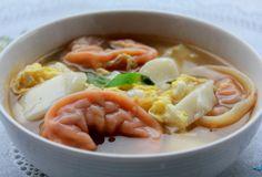 Rice Cake and Dumpling Soup (Ddeok Mandu Guk)