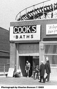 Cook's Baths, Coney Island, 1969