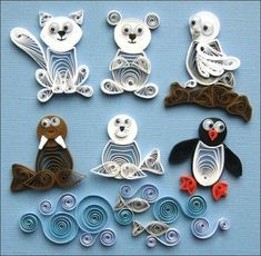 Amazon.com: Quilled Creations Quilling Arctic Buddies Kit for Paper Crafting: Arts, Crafts & Sewing