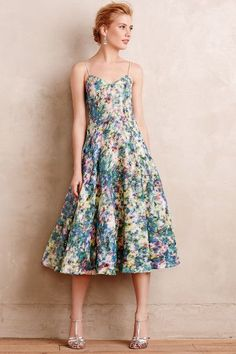 Atabei Midi Dress - anthropologie.com #anthrofave