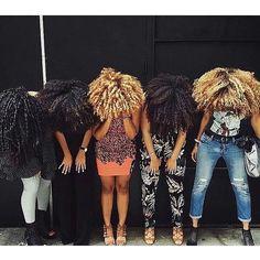 Squad Goals Friendship Goals Hair Goals via @curls_nolye #curlkit #naturalhair…
