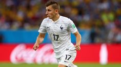 Lucas Digne of France controls the ball France Team, Fifa, Competition, San Francisco, Polo Shirt, Polo Ralph Lauren, Mens Tops, Shirts, Polos