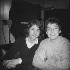 a young alex and a young matt