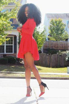 """The Red Lace Dress Kiitana """