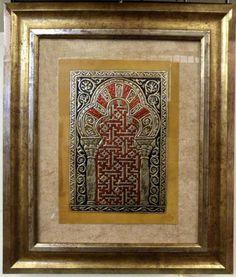 Arco de la Mezquita de Córdoba #leather #guadameci