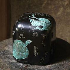仏壇。漆。東日出夫(漆工芸家)厨子