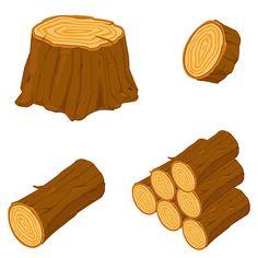 wood billets illustartion ile ilgili görsel sonucu