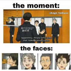 Haikyuu Kageyama, Haikyuu Funny, Hinata, Haikyuu Season 1, Dance Memes, Anime Family, Team Wallpaper, Anime Films, Funny Pictures