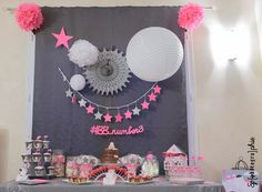 La baby shower en rose et gris de claire marie diy party decor. Decoration Communion, Idee Baby Shower, Shower Inspiration, Diy Party Decorations, Summer Kids, Party Planning, Party Time, Birthday Parties, Birthday Wishes