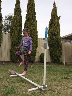 The importance of making abstract learning, such as tricky science concepts, real for kids. Make your own air rocket. My kids LOVED this x1000!