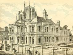 1869 - Harrington House, Leamington, Warwickshire - Architecture of Warwickshire, Vanished England - Archiseek.com