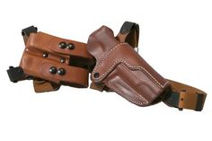 Leather Shoulder Holster, the Simple Shoulder Holster (SSR) 1911 Holster, Gun Holster, Saddle Leather, Soft Leather, Custom Leather Holsters, Hand Molding, Leather Projects, Guns And Ammo, Concealed Carry