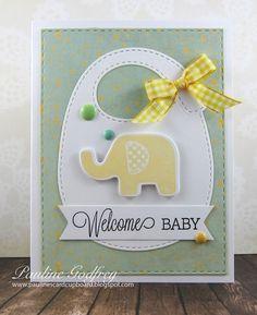 Pauline's Card Cupboard: Welcome Baby
