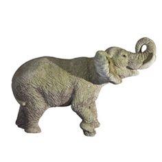 Great Vintage Garden Elephant    #1stDibs #outdoor