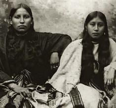 Strong Comanche women, no date