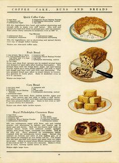 free vintage printable cookbook recipe page cake bread Retro Recipes, Old Recipes, Vintage Recipes, Cookbook Recipes, Baking Recipes, Cake Recipes, Dessert Recipes, Cookbook Ideas, Cookbook Display