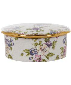 English Chintz Trinket Box, Wedgwood. Shop the Wedgwood collection at Liberty.co.uk