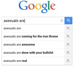 Asexuals are awesome