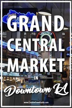 When visiting Los Angeles, you've probably heard of the Walk of Fame, Santa Monica Pier, Venice Beach. Where better to sample all parts of Los Angeles than at the iconic Grand Central Market in Downtown LA?