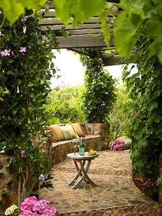 stone patio @ Home Improvement Ideas