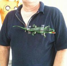DIY Lacoste Shirt on http://www.drlima.net