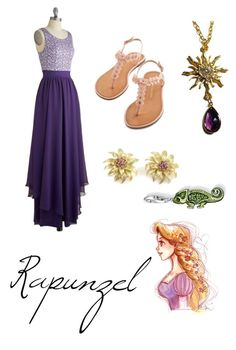 """Rapunzel"" by krusi611 ❤ liked on Polyvore featuring Thomas Sabo and Disney"
