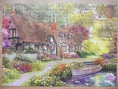 """""""KS Games Woodland Walk Cottage 1000 parça puzzle"""" Hazır yapılmış ve yapıştırılmış çerçeveye hazır puzzle Aynı gün kargo!  Satın almak ve fiyat bilgisi için ürün görseli üzerine tıklayın lütfen..!! Puzzle 1000, Painting, Art, Art Background, Painting Art, Kunst, Paintings, Performing Arts, Painted Canvas"""
