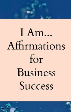 Wealth Affirmations, Morning Affirmations, Positive Affirmations, Business Quotes, Business Tips, Online Business, Business Prayer, Business Writing, Successful Business