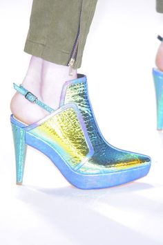 Best Shoes at New York Fashion Week Fall 2013 Nanette Lepore