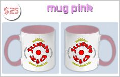 Tiles of The Simpsons as mobile app   Indiegogo MUG PINK WITH OUR LOGO JWkkBiz™