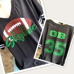 Mama Glitter original Football Mom shirt for women in Plus Size!! Can also easily be a shirt for Grandma, Aunt, Girlfriend, or biggest fan!  Show some FUN support for your favorite football player or team! PLEASE LET ME KNOW WHAT COLOR GLITTER AND THE TEAM NAME AT CHECKOUT! Please specify when you Browns Football, Football Love, Football Players, Football Mom Shirts, Bling Shirts, Sports Mom, Team Names, Christmas Shirts, Glitter