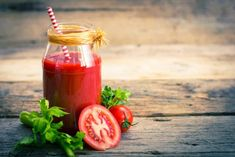 For more juicing tips, click now. Stay fit and healthy simply by benefiting from making juice. Diet is extremely important in our long-term health and wellbeing. A lot of fiber rich foods will almost allways be healthy for you. Smoothies, Fiber Rich Foods, Tomato Juice, Drink Menu, Baking Flour, Health And Wellbeing, Fruits And Veggies, Hot Sauce Bottles, Tray Bakes