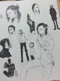 Cute Uta doodles