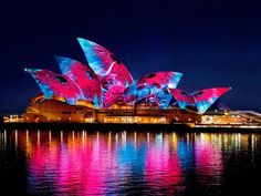 Vivid Sydney - Light, Music and Ideas | Sydney Harbour Event