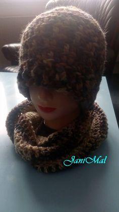 Kulich a nákrčník pro pány Winter Hats, Crochet Hats, Hobbies, Knitting Hats