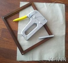 25 ways to use a dropcloth in your home decor diy canvas frametent