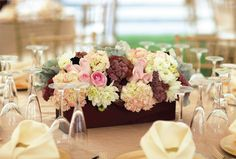 This floral arrangement adds a bit of colour and cuteness to your table