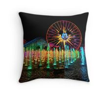 The Wonderful World of Color Throw Pillow