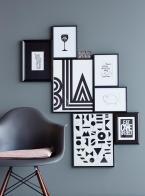 Grau, Schwarz & Weiß kombinieren