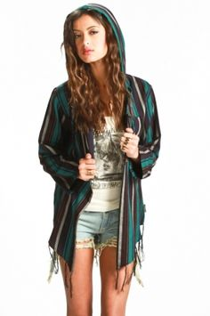 stussy - women''s stevie fringed poncho (multi)  http://www.80spurple.com/shop/product/142411/5266/stussy-women-s-stevie-fringed-poncho-multi