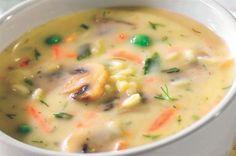 Nie masz pomysłu na obiad? Podpowiadamy! Ugotuj zupę jarzynową z pieczarkami!