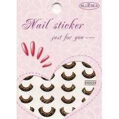 Stickers d'ongles Nail art Water decal