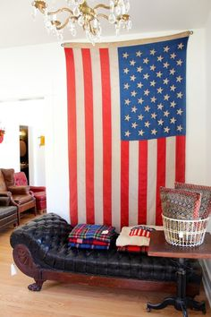American Flag Wall Hanging let your pride flag fly | masculinity | pinterest | flags and