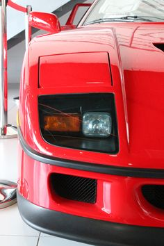 Tucked behind shiny new Californias, and all manner of Ferrari-branded merchandise at Ferrari of Austin is a time capsule: a 1992 Ferrari with only 172 miles and the factory sticker still stuck in the front window. True Car, Ferrari F40, Expensive Cars, Vehicles, Stuff To Buy, Motorbikes, Car, Vehicle, Tools