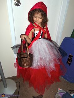 Red Riding Hood and her Big Bad Wolf - Halloween Costume Contest via @costumeworks