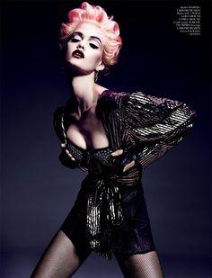 "The Look: ""Bad Girl"" - Jennifer Pugh by Chek Wu for Twelv magazine!"