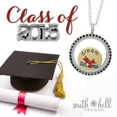 South Hill Designs has the perfect graduation gift! www.southhilldesigns.com/charmingalyson #graduationgift #gift #graduation #highschoolgrad #grad2015